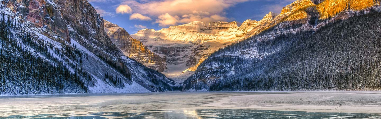 Lake Louise in Winter - Canadian Rockies Snow Adventure Tour
