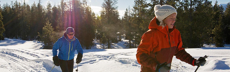 Canadian Rockies Snowshoeing Winter Adventure Tour