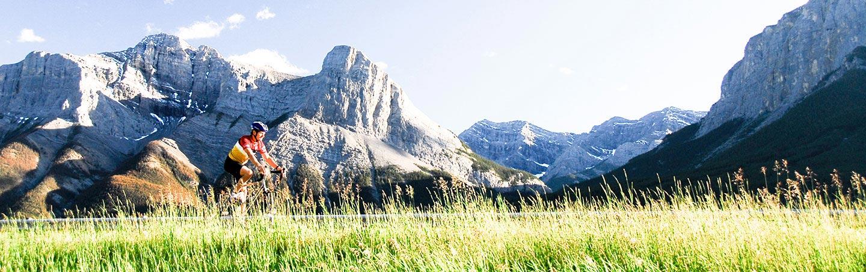 Biking on Canadian Rockies Family Breakaway Multisport Adventure Tour