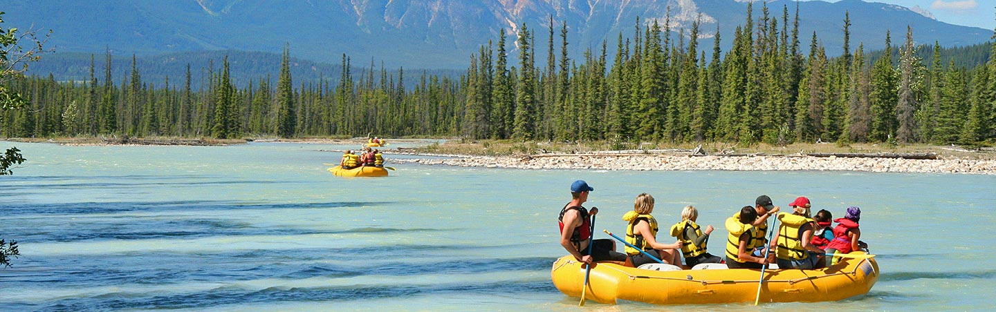Canadian Rockies Family Whitewater Rafting