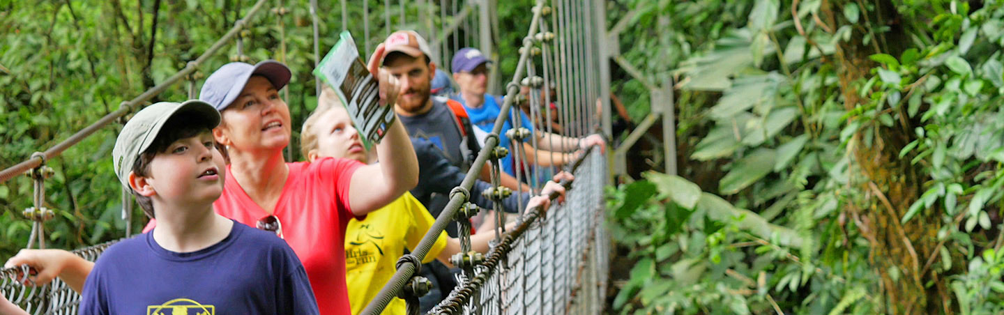 Hiking on Costa Rica Family Multisport Adventure Tour