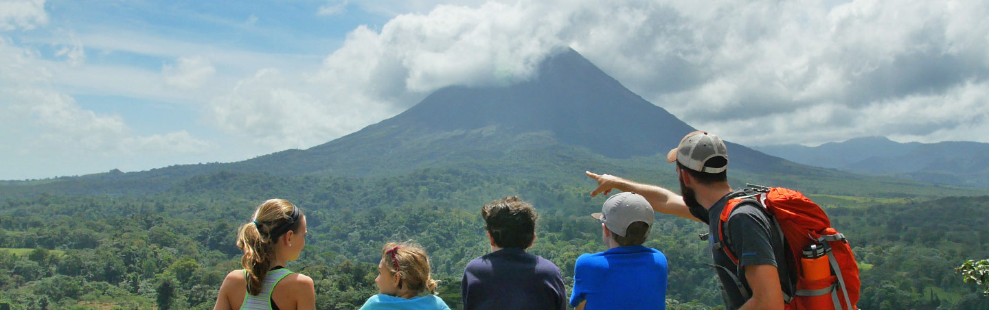 Arenal Volcano - Costa Rica Family Multisport Adventure Tour