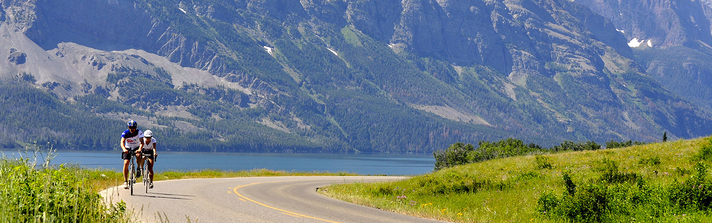 Biking - Glacier & Waterton Lakes Family Multi-Adventure Camping Tour