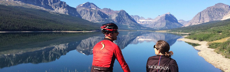 Biking on Glacier & Waterton Lakes  Multi-Active Tour