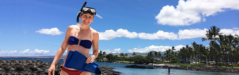 Snorkeling on Backroads Maui & Lanai Multisport Adventure Tour