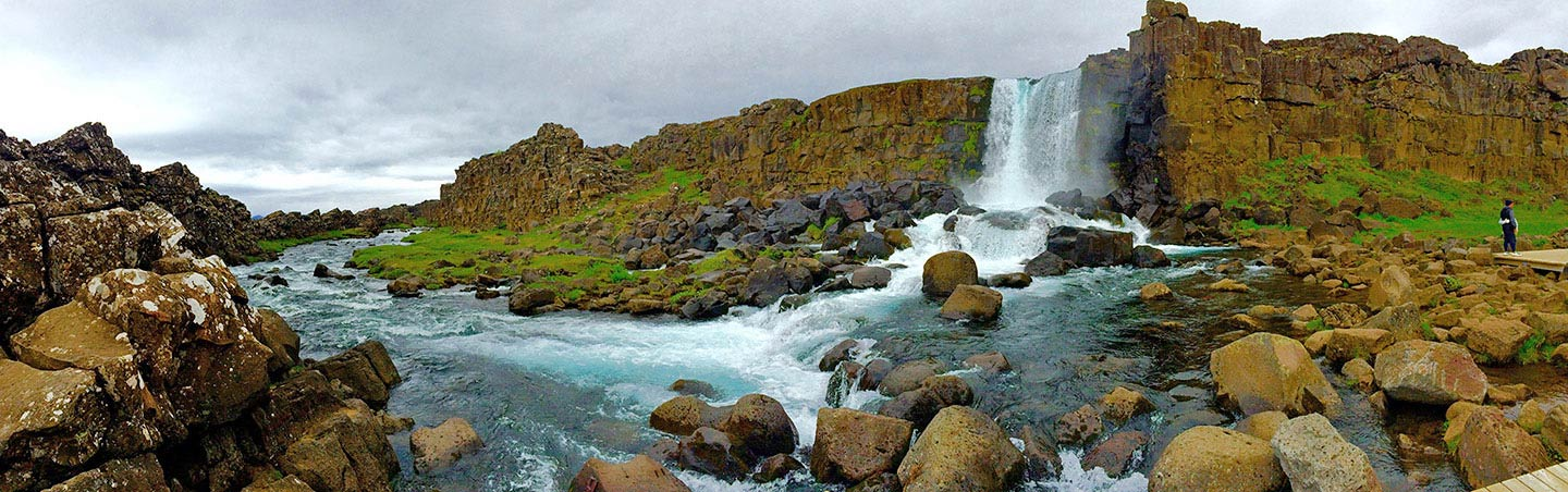 Waterfalls - Backroads Iceland Family Breakaway Walking & Hiking Tour