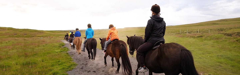Horseback riding - Backroads Iceland Family Multisport Tour