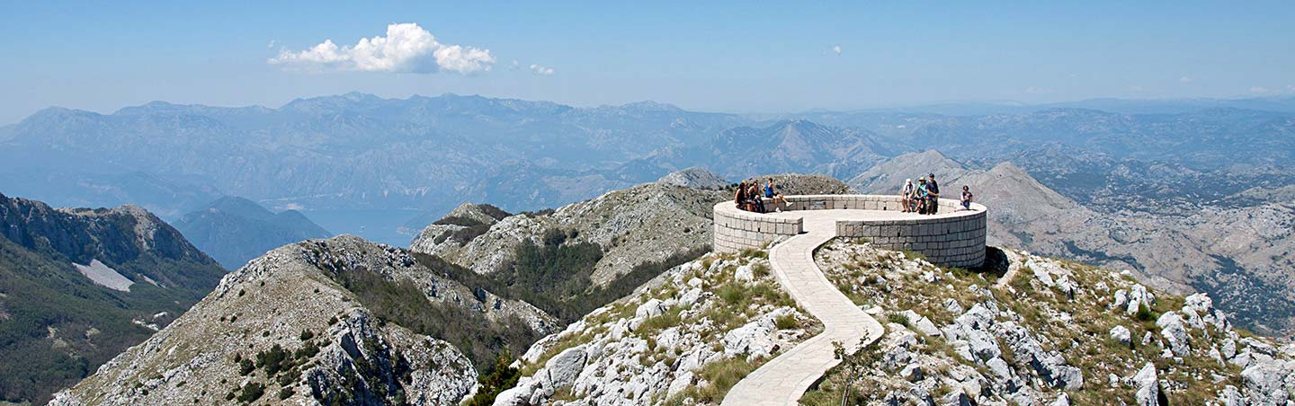 Lovchen in Montenegro - Dalmatian Coast to Montenegro Multisport Adventure Tour