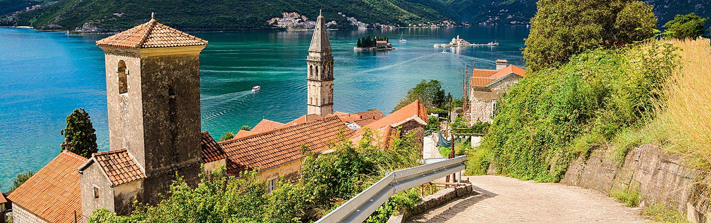 Harbor in Montenegro - Dalmatian Coast to Montenegro Multisport Adventure Tour