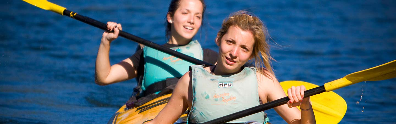 Kayaking on Backroads New Zealand Family Breakaway Multisport Adventure Tour