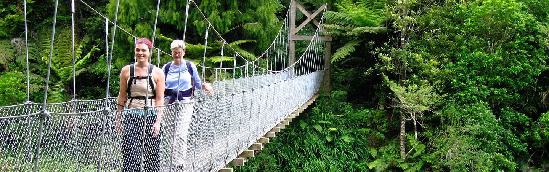 Hiking on Backroads New Zealand Family Breakaway Multisport Adventure Tour