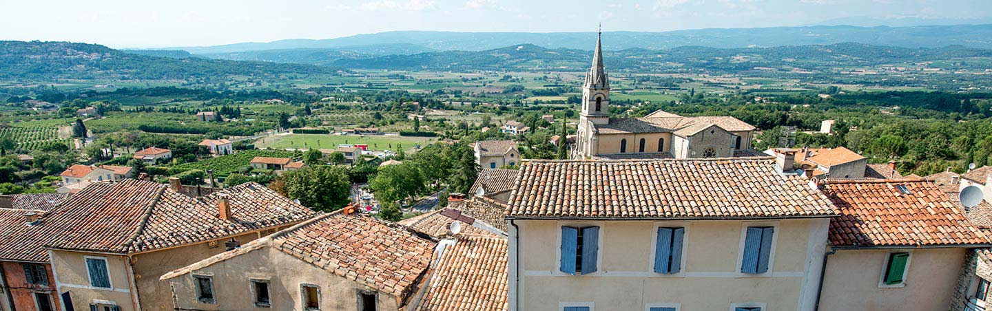 City in Provence, France