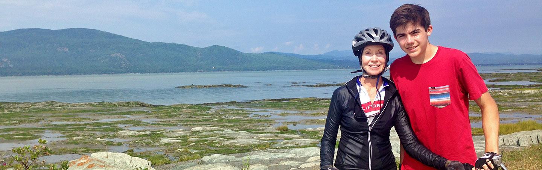 Biking on Backroads Quebec Family Breakaway Multisport Adventure Tour