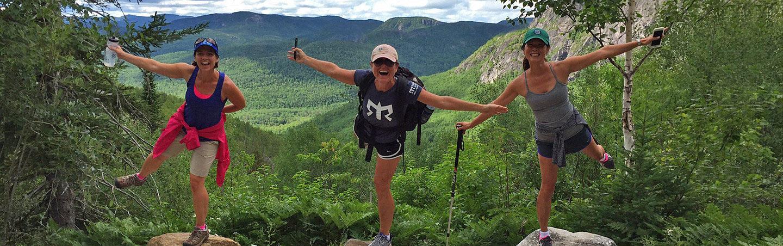 Hiking on Backroads Quebec Family Breakaway Multisport Adventure Tour