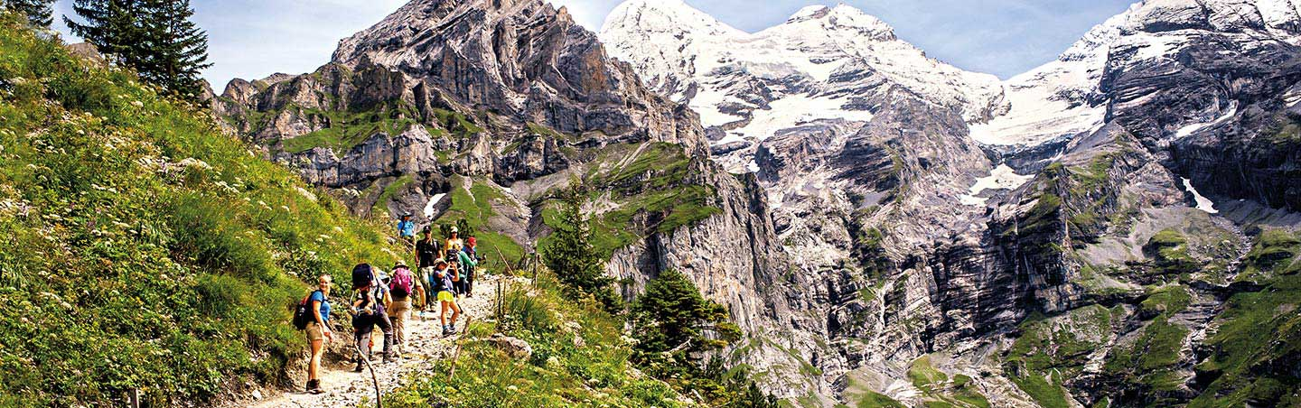 Swiss Alps Hiking Tour