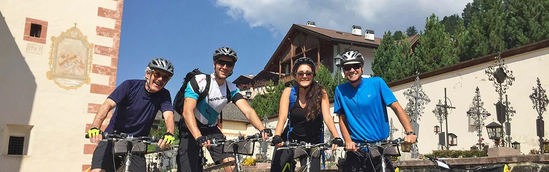 Family Biking on Backroads Dolomites family bike tour