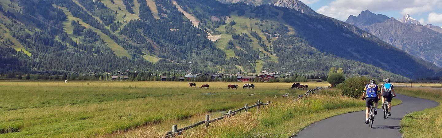 Cycling on Backroads Yellowstone & Tetons Family Breakaway Multisport Adventure Tour