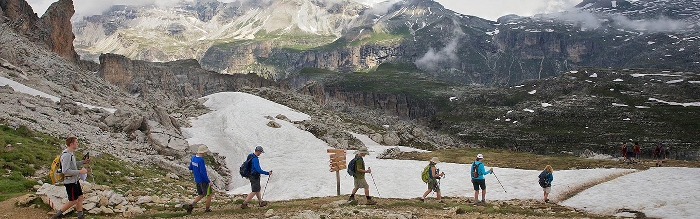 Hiking in Italy - Backroads Dolomites Walking & Hiking Tours