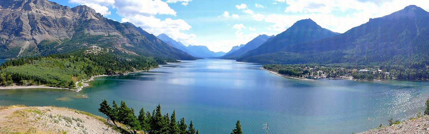Swiftcurrent Lake - Backroads Glacier & Waterton Lakes Walking & Hiking Tour