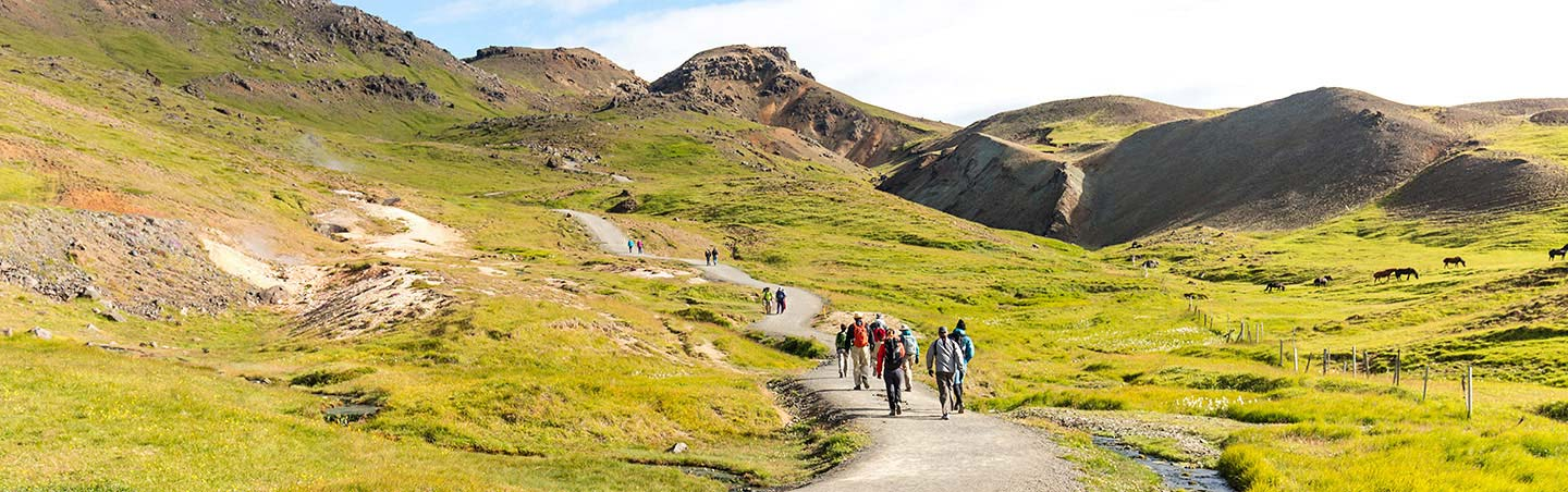 Hiking on Backroads Iceland walking and hiking tours
