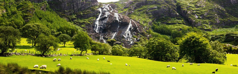 Waterfall on Backroads Ireland Family Breakaway Walking & Hiking Tour