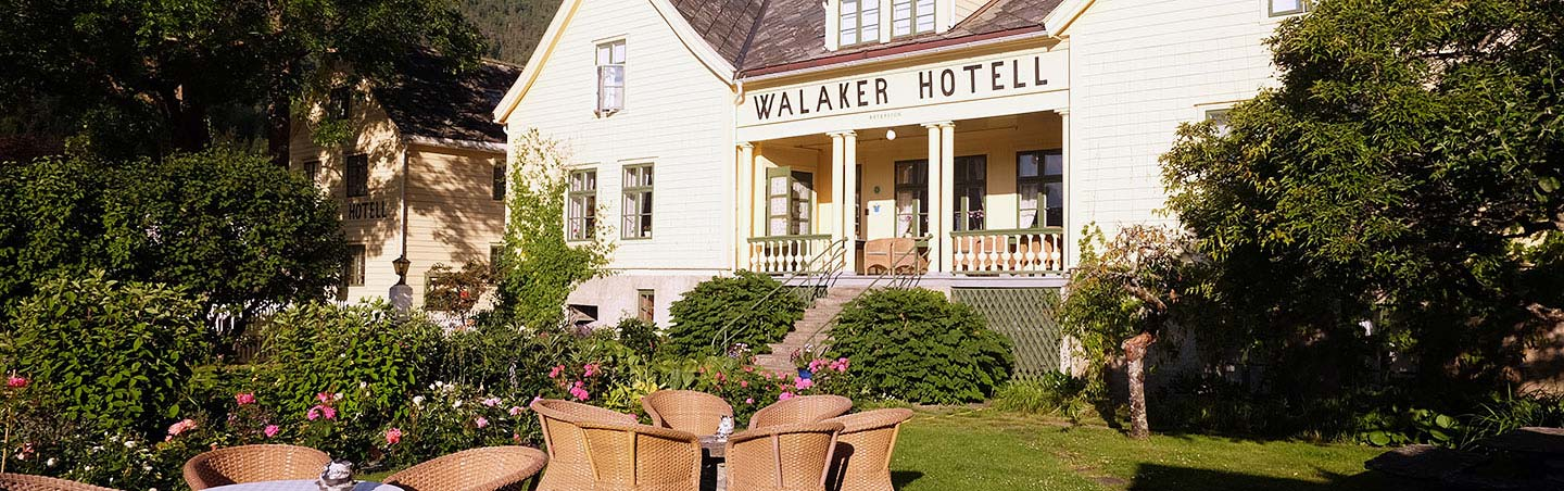 Walaker Hotel - Backroads Norway Walking and Hiking Tour