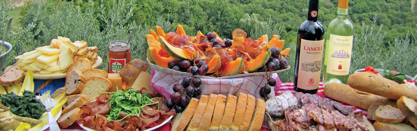 Lunch Picnic, Backroads Cinque Terre & Tuscany Family Breakaway Walking & Hiking Tour