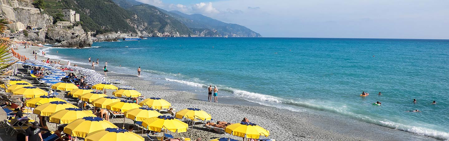 Beach in the Cinque Terre, Italy