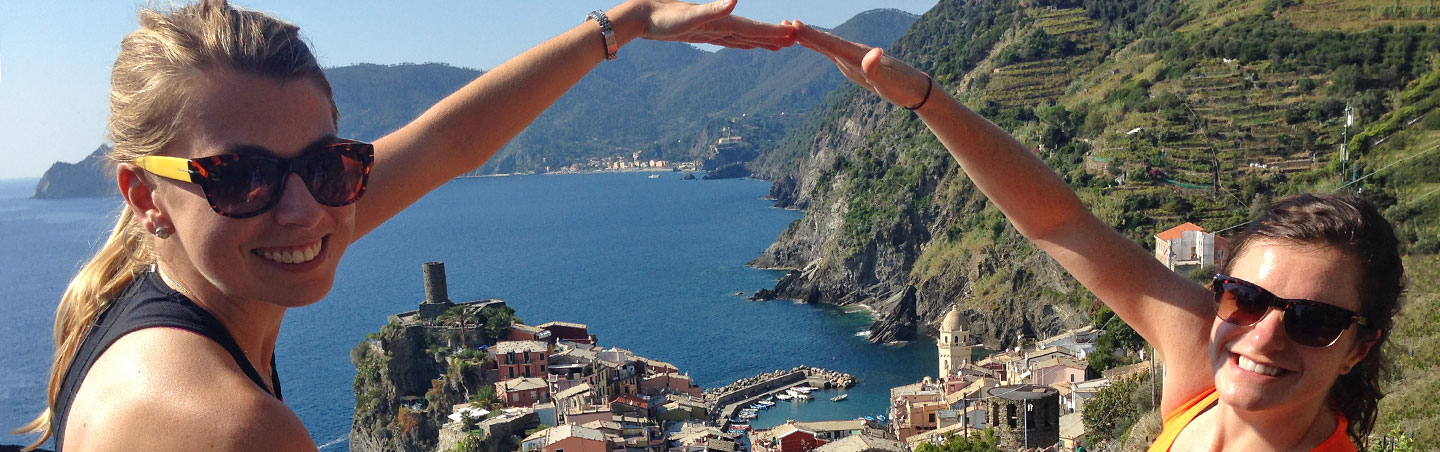 Cinque Terre Italy Family Hiking Tours