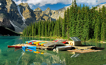 Canadian Rockies Biking tour