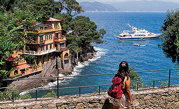 Piedmont and Portofino walking tour