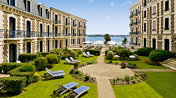 Grand Hotel Barriere, St-Malo, France