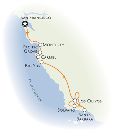 Pacific Coast Highway Drive >> California Coast Bike Tour: Monterey, Big Sur to Santa Barbara