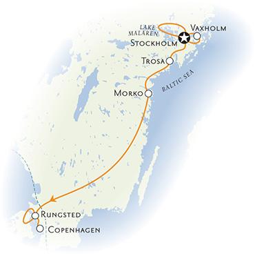 Denmark & Sweden Bike Tour