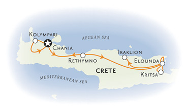 Greece Biking Map