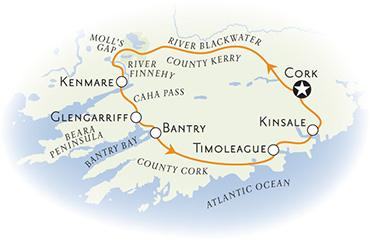 Ireland Biking Map