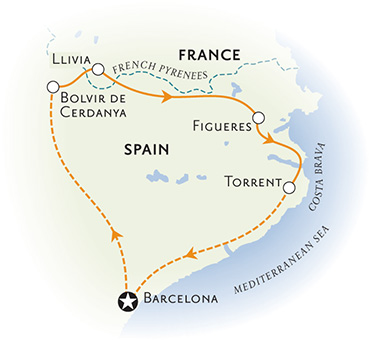 Spain Biking Map