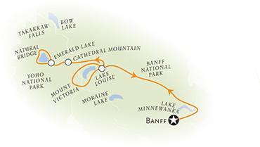 Canadian Rockies Multisport Map