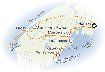 Nova Scotia Multisport Map