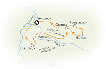 Provence France Map