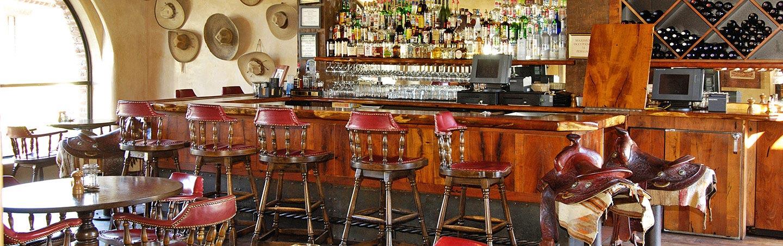 Bar at Tubac Golf Resort - Backroads Tucson and Sonoran Desert Bike Tour