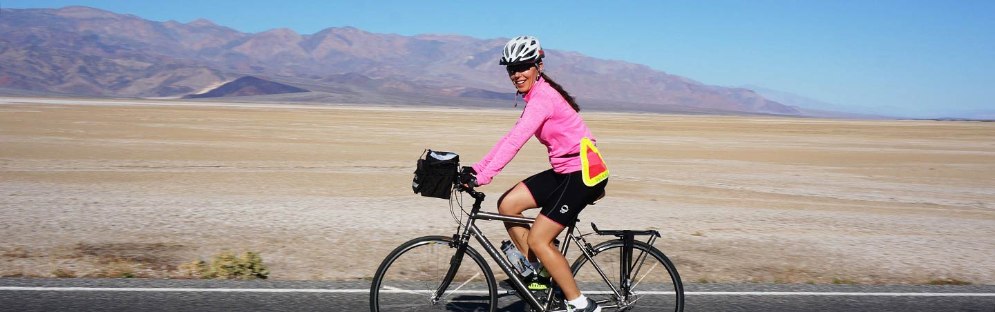 Cycling on Backroads Death Valley Bike Tours