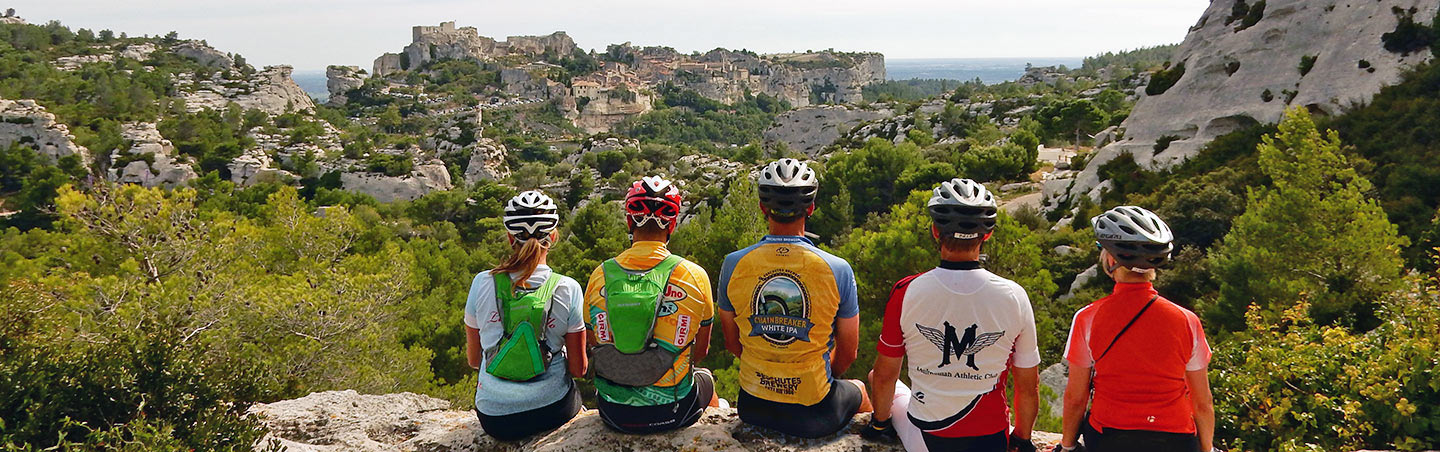 Cycling on our Backroads Provence Bike Tours