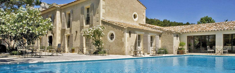 Poool at Auberge de la Benvengudo, Provence, France