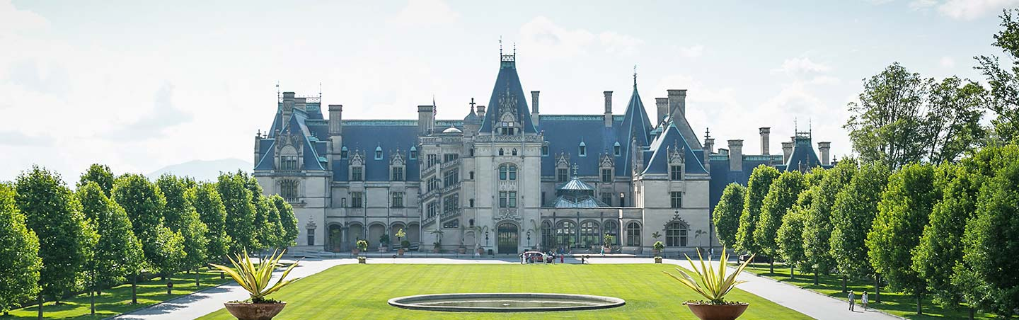 The Biltmore Estate - Backroads Asheville to Greenville Bike Tour