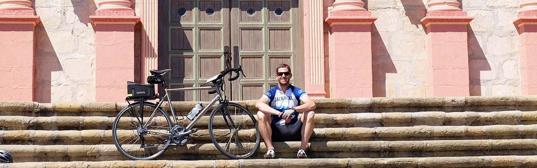 Santa Barbara Mission - Santa Barbara to Ojai Valley Bike Tour