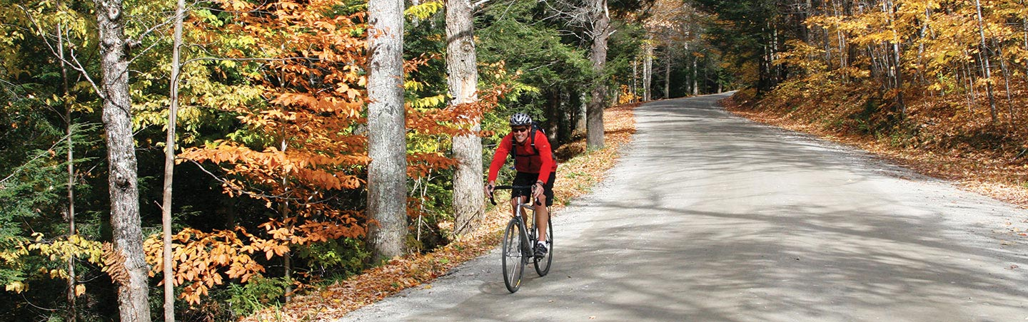 Cycling on Backroads Vermont and Quebec Bike Tour