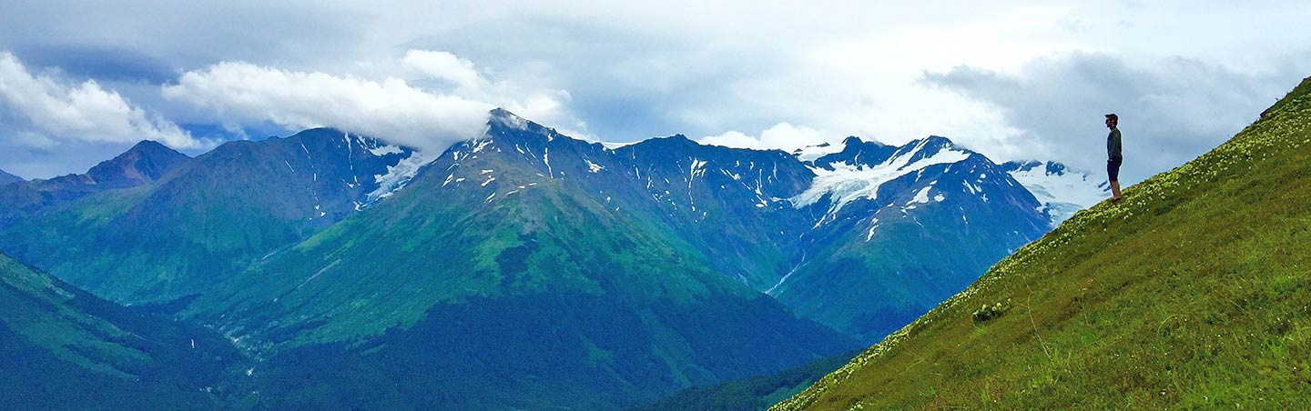 Hiking - Backroads Alaska's Kenai Peninsula Family Breakaway Multisport Adventure Tour