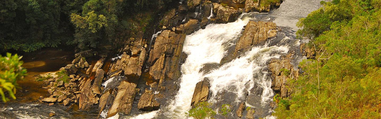 Waterfalls on Backroads Brazil Multisport Adventure Tour