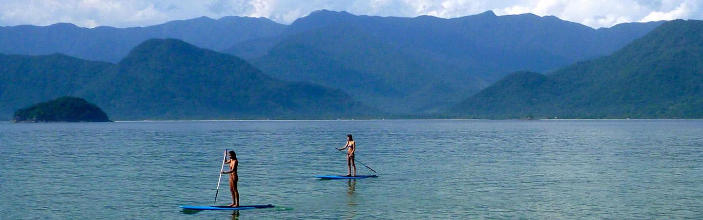 Stand up paddleboarding - Backroads Brazil Multisport Adventure Tour